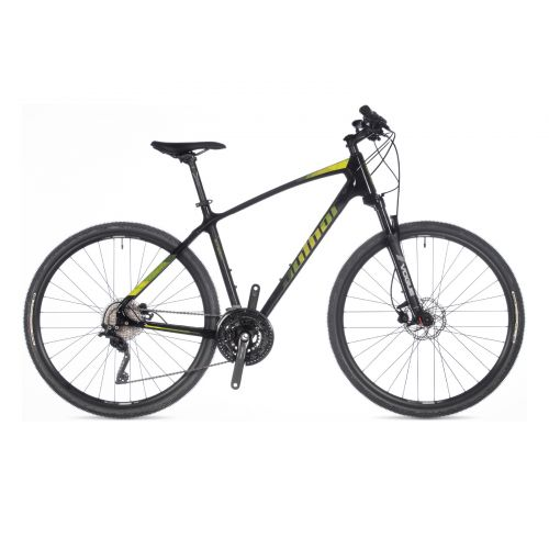 "Велосипед AUTHOR (2021) Synergy 29"", рама 20"", цвет-чёрный (зелёный) // чёрный"