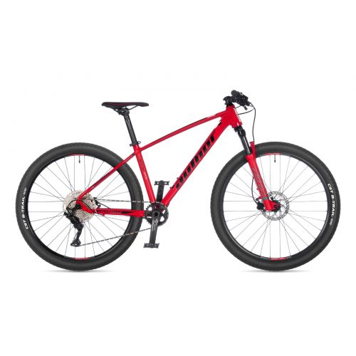 """Велосипед AUTHOR (2021) Sonic 27.5"""", рама 16"""", цвет-красный (чёрно/белый) // красный"""