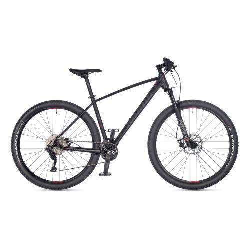 """Велосипед AUTHOR (2021) Traction 29"""", рама 21"""", цвет-чёрный (серый) // чёрный"""