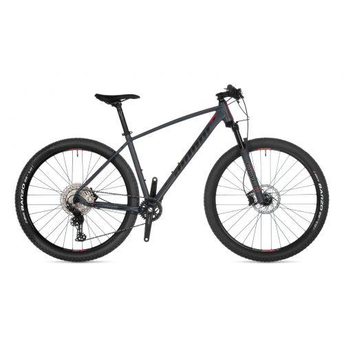 """Велосипед AUTHOR (2021) Context 29"""", рама 19"""", цвет-серый (чёрно/красный) // серый"""
