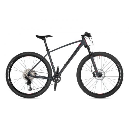 """Велосипед AUTHOR (2021) Context 29"""", рама 21"""", цвет-серый (чёрно/красный) // серый"""