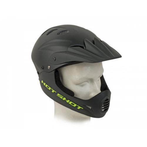 Шлем Author Hot Shot HST X9, размер 52-54 см, цвет:матово чёрный