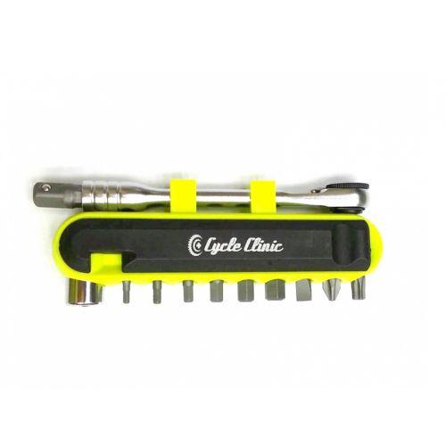 """Инструмент Author CC 9BIT   R1/4""""  (yellow-neon/black)"""