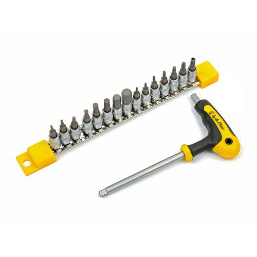"""Инструмент CC  17BIT & T1/4""""  желто/черный"""