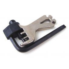 Инструмент для выжимки цепи AHT-551 с спицным ключем, вес 85 гр.