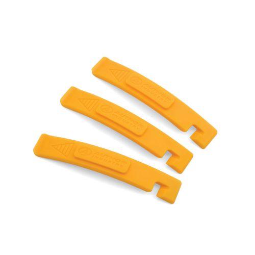 Бортировочные лопатки AHT-07 желтые, пластик, 3 шт.в компл.,вес 40 гр.