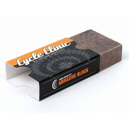 Абразивный блок CC N40, мелкая фракция, серый, вес 10 гр.