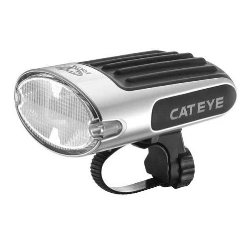 Фонарь передний CATEYE HL-EL610RC,серебристый