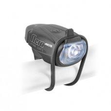 Фонарь мигалка передний A-Nero Micro USB, 1 LED, 6 lm,черный, вес 80 гр