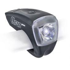 Фонарь передний A-Nero Mini USB, 1 LED, 10 lm,черный, вес 80 гр