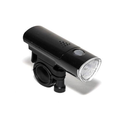 Фонарь передний HL-40 5 LED d.24-32, черный