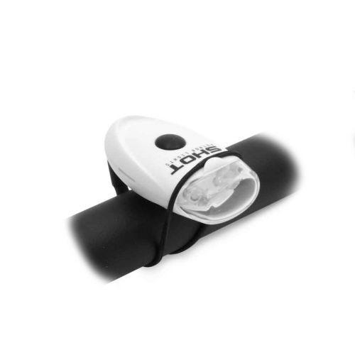 Фонарь мигалка передний A-Short F с белым рефлектором, вес 65 гр.