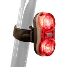 Ліхтар стоп задній Author A-Duplex X7 20lm  (black/red-lens)
