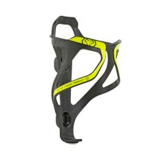 Крепление для фляги Author карбоновое ACP-X26, цвет : карбон / неоново жёлтый