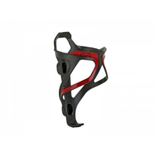 Крепление для фляги Author карбоновое ACP-X26, цвет : карбон / красный