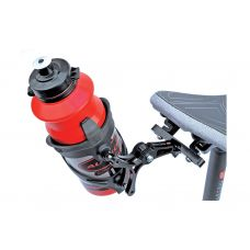 Крепление для фляги Author AO-S1 ,на седло ,черный, вес 123 гр.