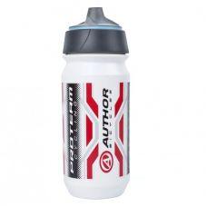Фляга AB-Tcx-Shanti proteam 600 ml, цвет : бело/красно/черный, 74 грама