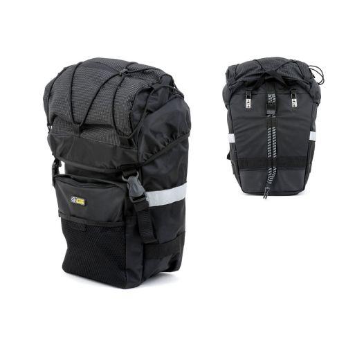 Сумка-штаны на багажник Author A-N471, боковая, 1 штука, объем 16 л.