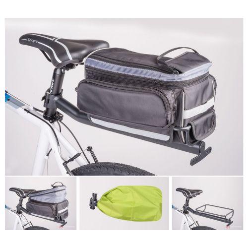 Сумка на багажник с багажником A-N LitePack 9N , вес 1500 гр