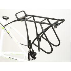 Багажник задний Author ACR-50-Alu DiscBrakePro  матово черный, вес 930 гр.