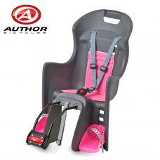 Кресло детское Author ABS - Boodie FF, на подседельную трубу рамы, зелёно/розовое