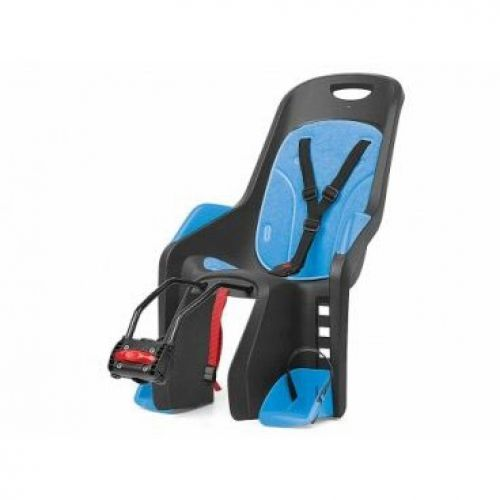 """Кресло детское Bubbly Maxi Plus FF 29""""/700C , черно серое, на подседельную трубу рамы"""