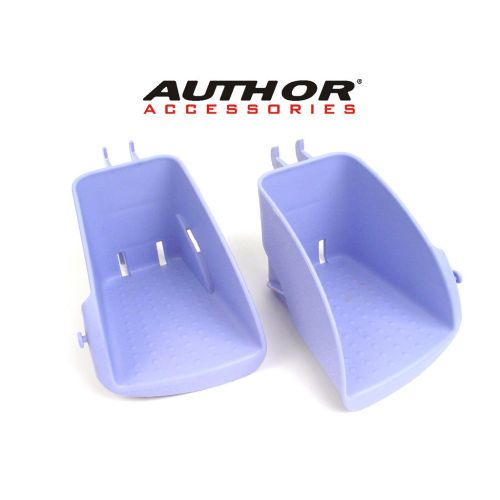 Подставки под ногу для кресла Wallaroo, голубое,вес 130 гр, набор с 2-х штук