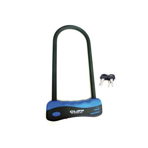 Замок U-lock AUL Cliff 165 x 320 mm, черный