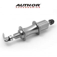 Втулка задняя в сборе ACO-H99-R/32, серо-хромовая под V brake, вес 433 гр.