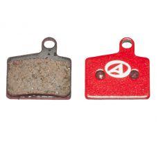 Тормозные дисковые колодки ABS-44 Hayes Stroker Ryde, полимер, красные