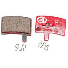 Тормозные дисковые колодки ABS-45 Hayes Stroker Trial, полимер, красные