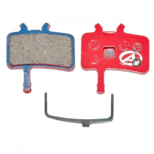 Тормозные дисковые колодки ABS-61 Avid Juicy, полимер, красные