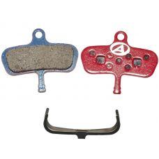 Тормозные дисковые колодки ABS-63 Avid Code, полимер, красные