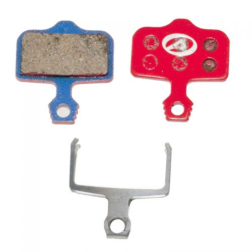 Тормозные дисковые колодки ABS-65 Avid Elixir, полимер, красные