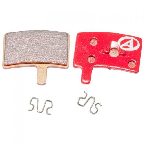 Тормозные дисковые колодки ABS-45S Hayes Stroker Trial, металл, красные
