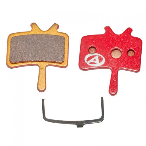 Тормозные дисковые колодки ABS-61S Avid Juicy, металл, красные