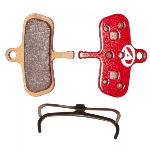 Тормозные дисковые колодки ABS-63S Avid Code, металл, красные