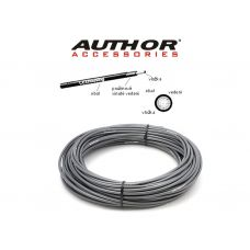 Кожух для тормозного троса Author ABR-Cex Диаметр-5 мм, длинна -30 м, серый