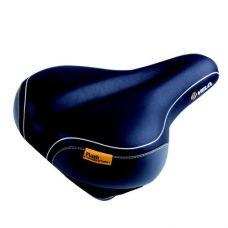 Седло VELO Plush, Tour Air r, 275 mm x 212 mm, вес 665 гр, черное, без крепления, на еврокарте