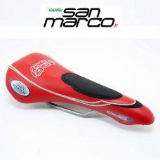 Седло ODS RACE GEL красное, производитель San Marco Италия