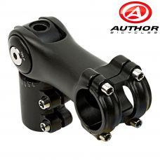 Вынос руля Author ACO-AJ-15 A-head r.0-60/ e.90/ d.28,6/ BB 31,8 mm, мат.черный