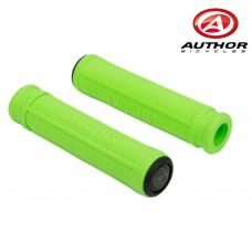 Грипсы Author AGR SILICONE, длинна 130 mm, неоново зелёные