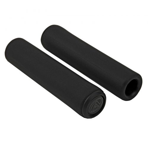 Грипсы Author SILICONE Elite l.130 mm, черные