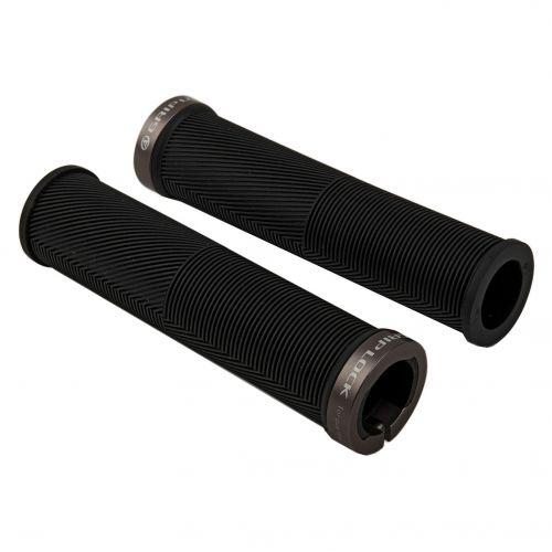 Ручки для велосипедного керма Author R40 GripLock  l.125 mm, колір: чорний