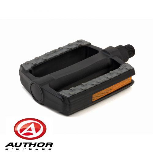 Педали Author APD-128-Nsl, черно/серые