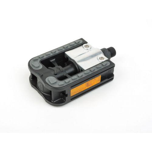Педали Author APD-113 Simplex, складные, цвет :серебристо/черные