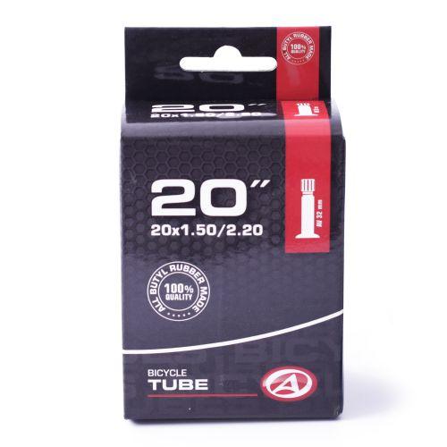 "Велокамера Author AT-CMP-20"" AV32 20x1.50-2.20, в коробочке"