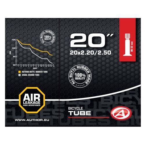 "Велокамера Author AT-CMP-20"" Wide AV32 20x2.20/2.50, в коробочке"