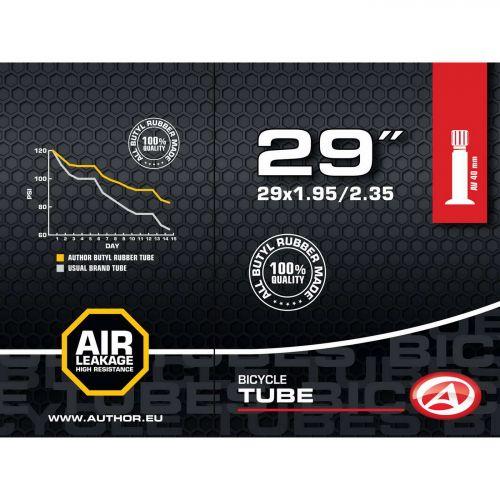"Велокамера AT-MTB-29"", вентиль AV 40 мм,  29x1.95/2.35, вес 195 гр"