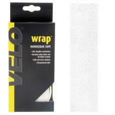 """Набір стрічок для велосипедного руля """"VELO"""", 2 шт х 160 см + 2 шт х 8,5 см, поліпропілен, колір білий"""